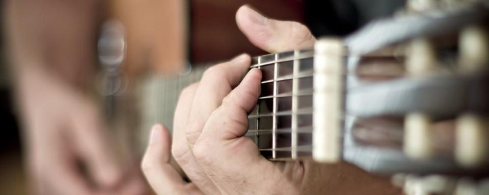 Musikundervisning, guitarundervisning